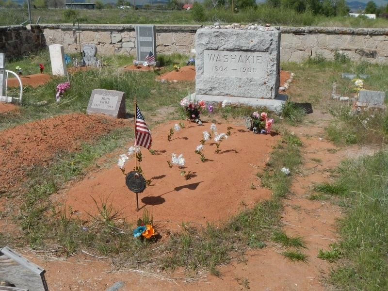 The Grave of Chief Washakie image. Click for full size.