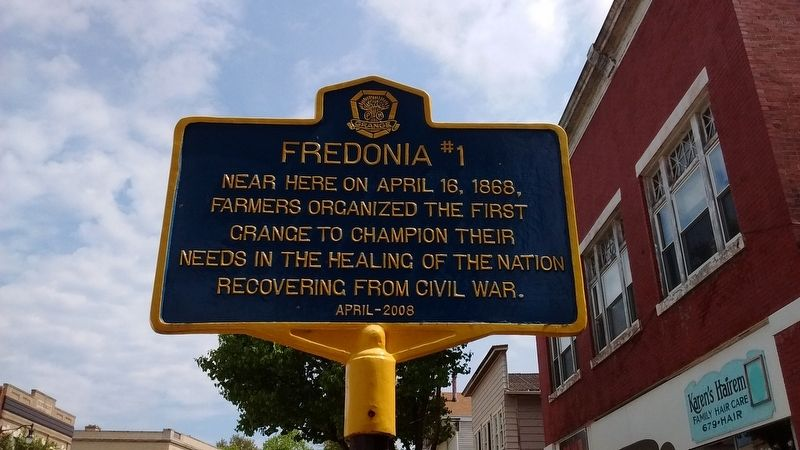 Fredonia #1 Marker image. Click for full size.