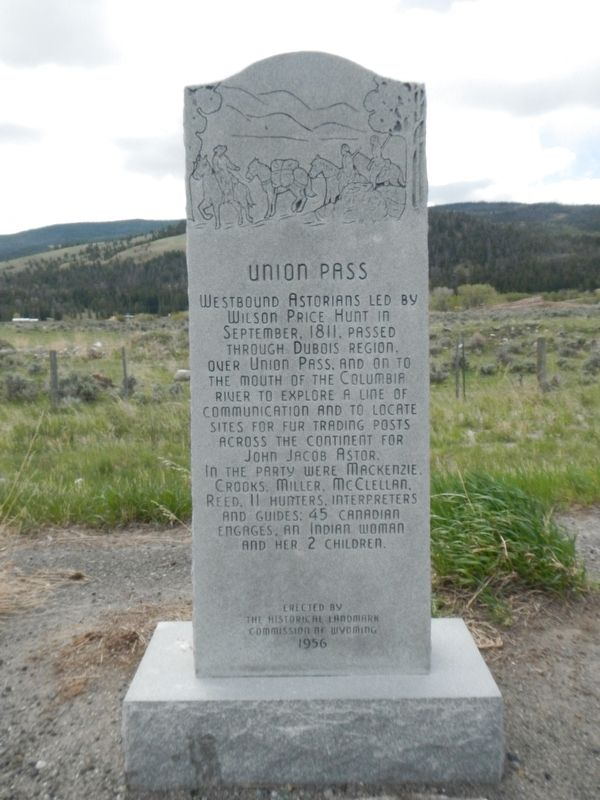 Union Pass Marker image. Click for full size.