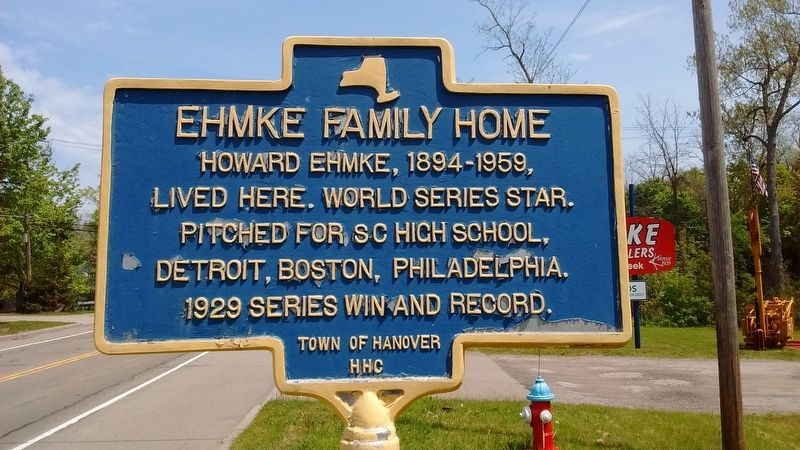Ehmke Family Home Marker image. Click for full size.