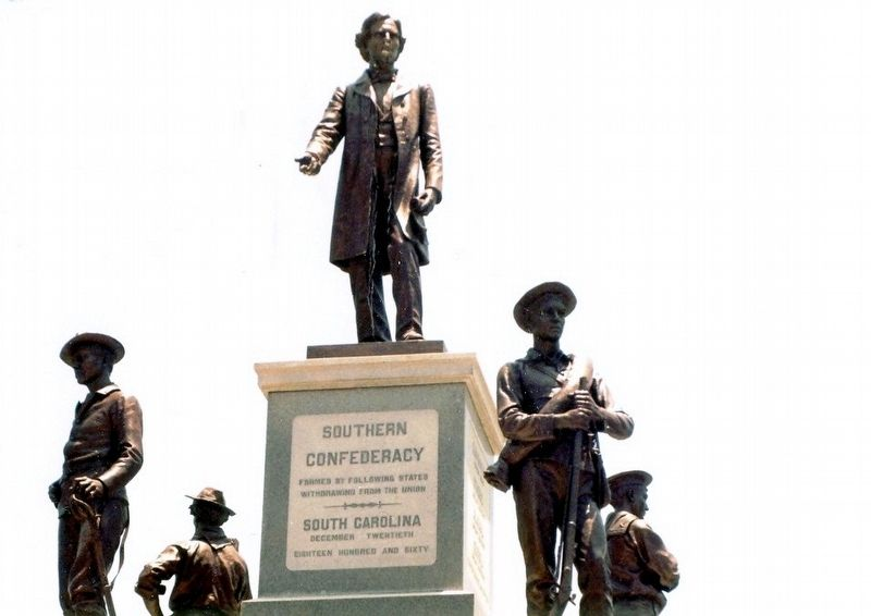 Southern Confederacy Monument Marker image. Click for full size.