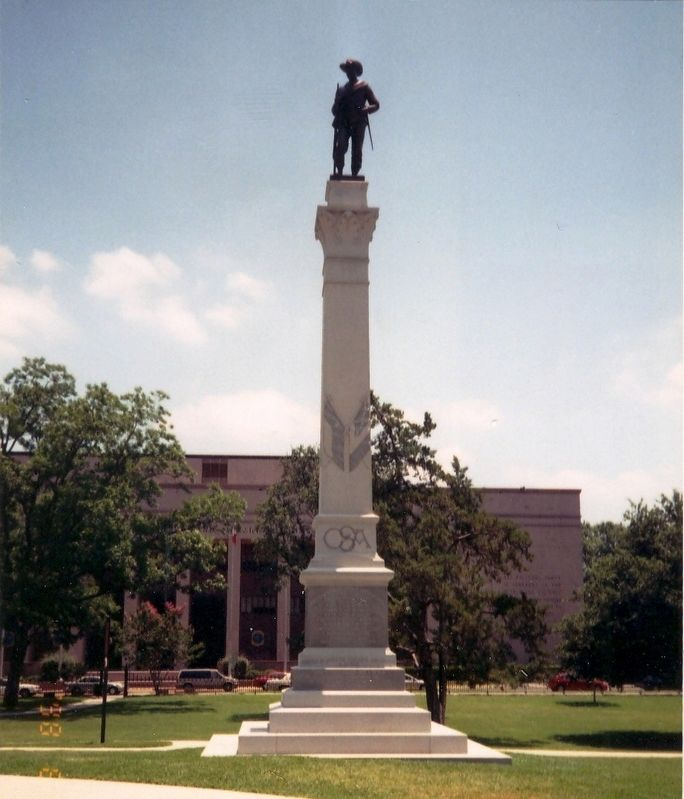 Hood's Texas Brigade Monument image. Click for full size.