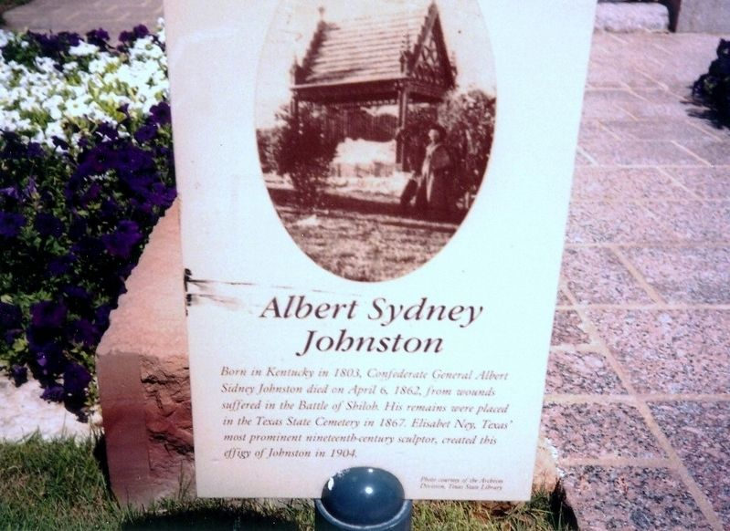 Albert Sydney Johnston Marker image. Click for full size.