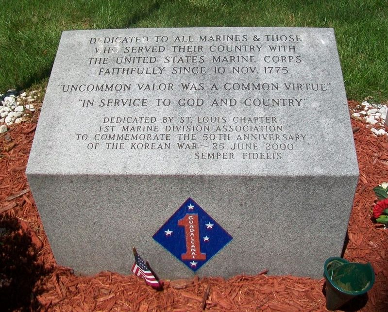 United States Marine Corps Monument image. Click for full size.