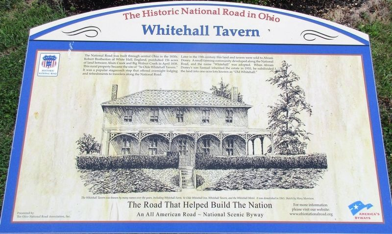 Whitehall Tavern Marker image. Click for full size.
