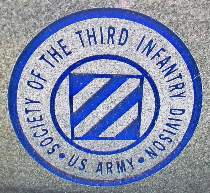 Society of the Third Infantry Division Emblem image. Click for full size.