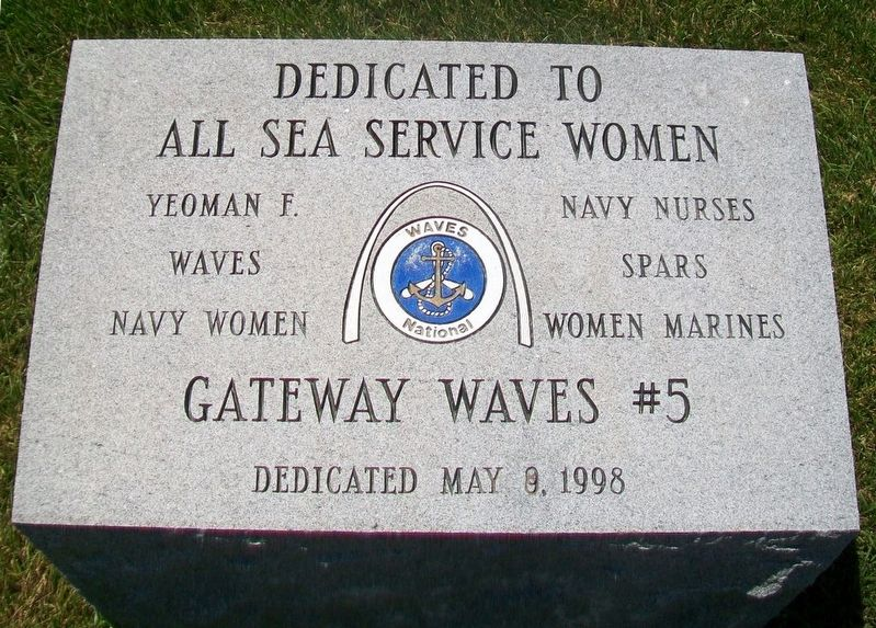 All Sea Service Women Monument image. Click for full size.
