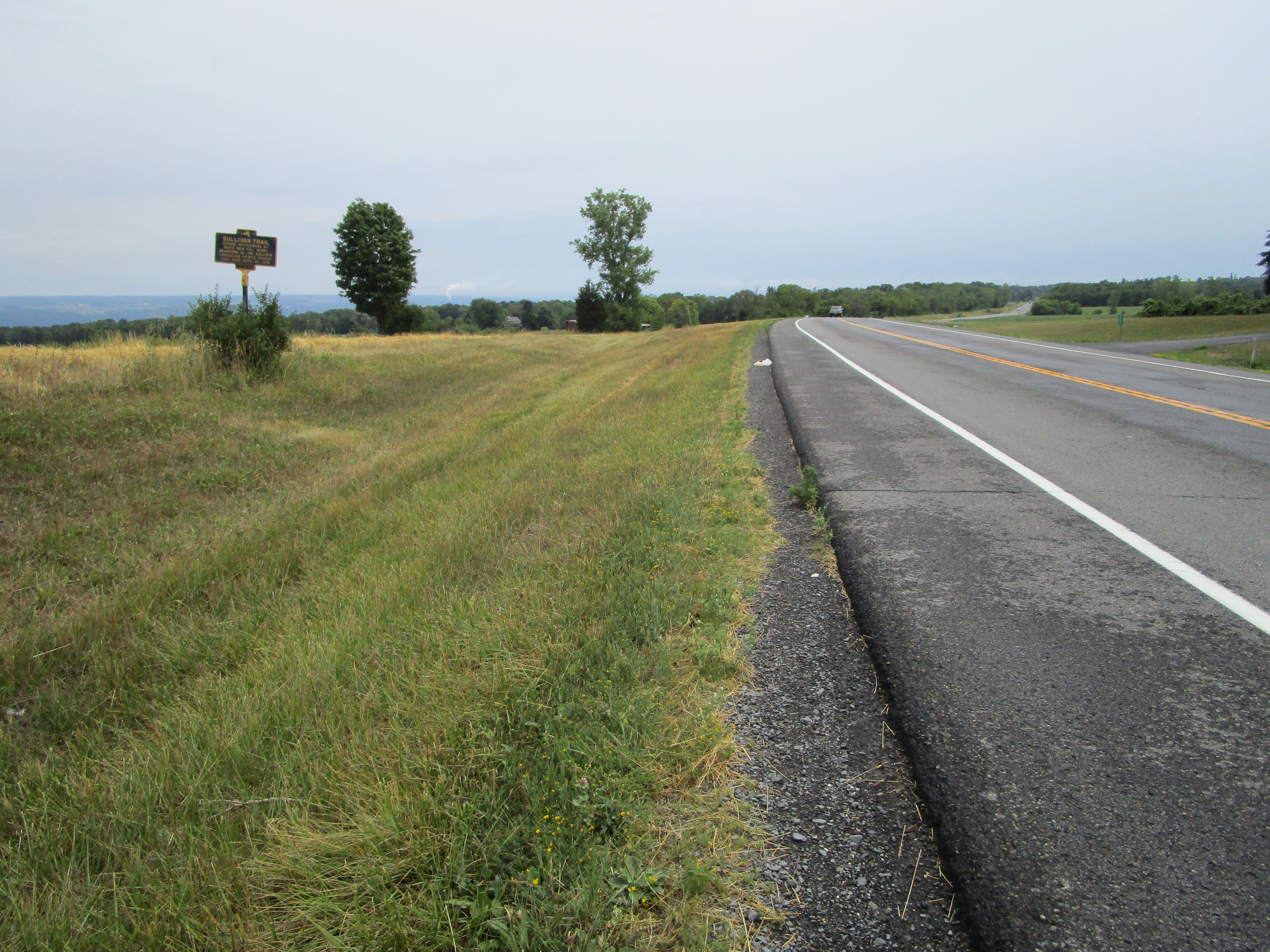 Southward on NY 96