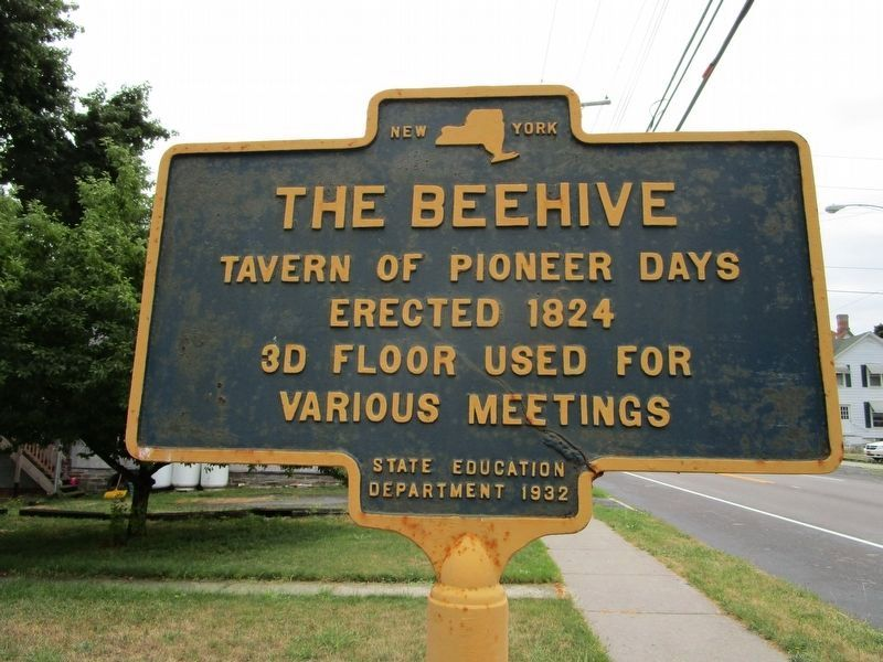 The Beehive Marker image. Click for full size.