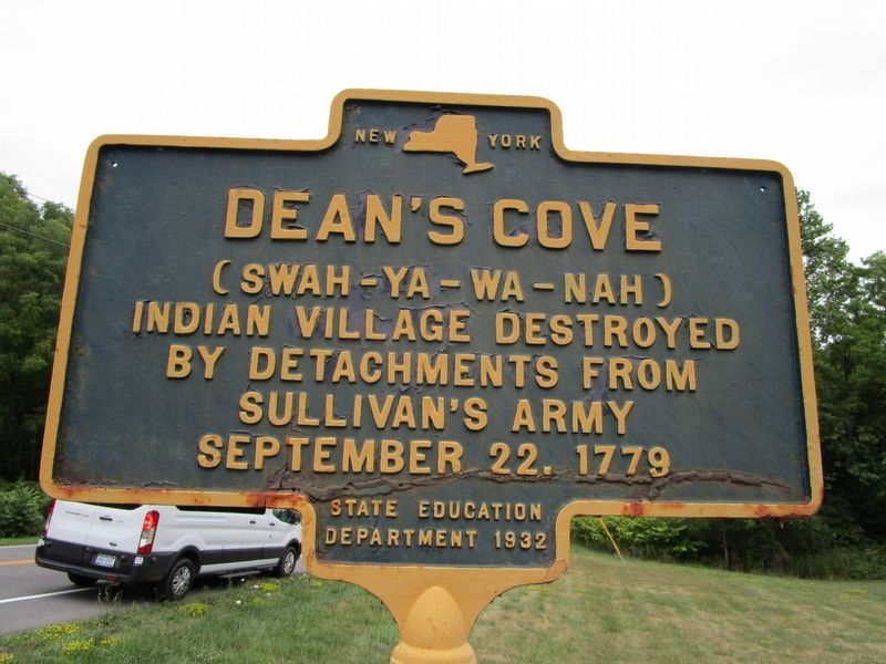 Dean's Cove Marker image. Click for full size.