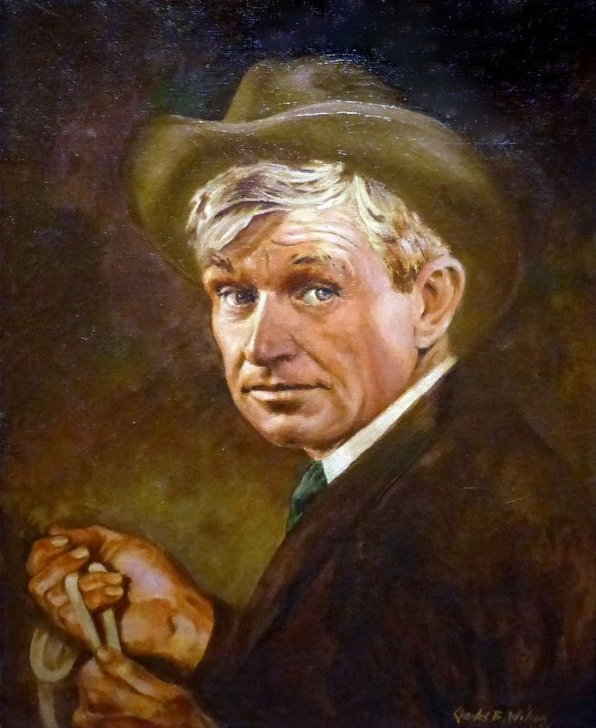 Will Rogers image. Click for full size.