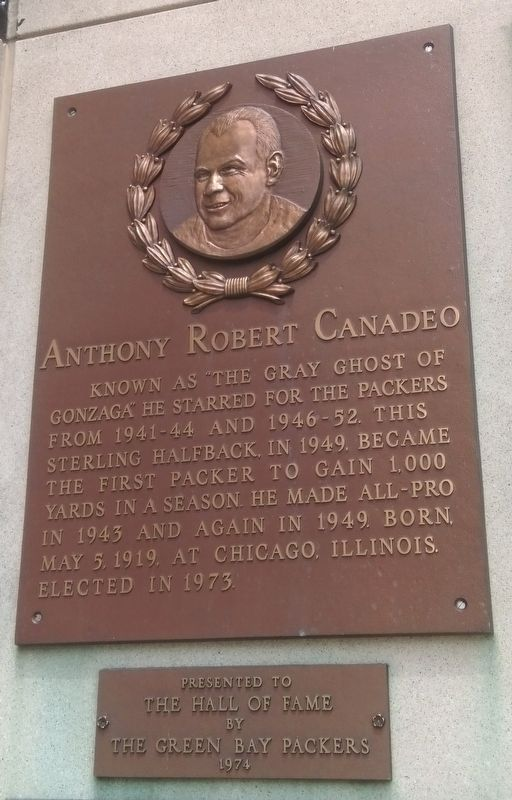 Anthony Robert Canadeo Marker image. Click for full size.
