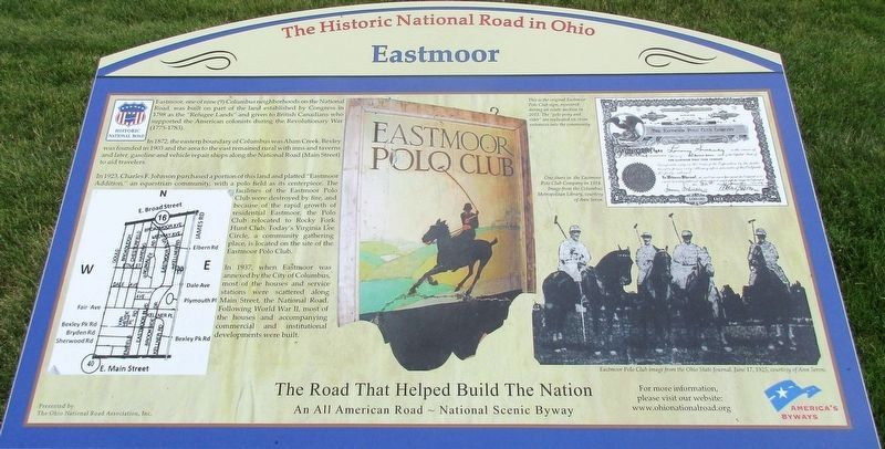 Eastmoor Marker image. Click for full size.