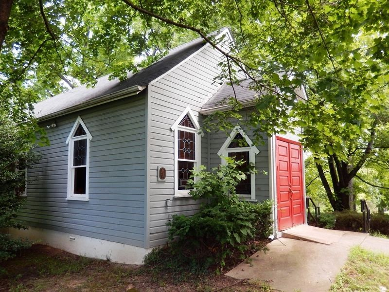 Ridgley Methodist Episcopal Church-side view image. Click for full size.