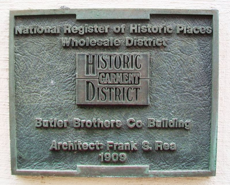 Butler Brothers Co Building Marker image. Click for full size.