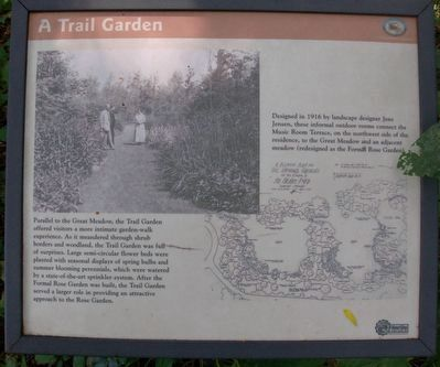 A Trail Garden Marker image. Click for full size.