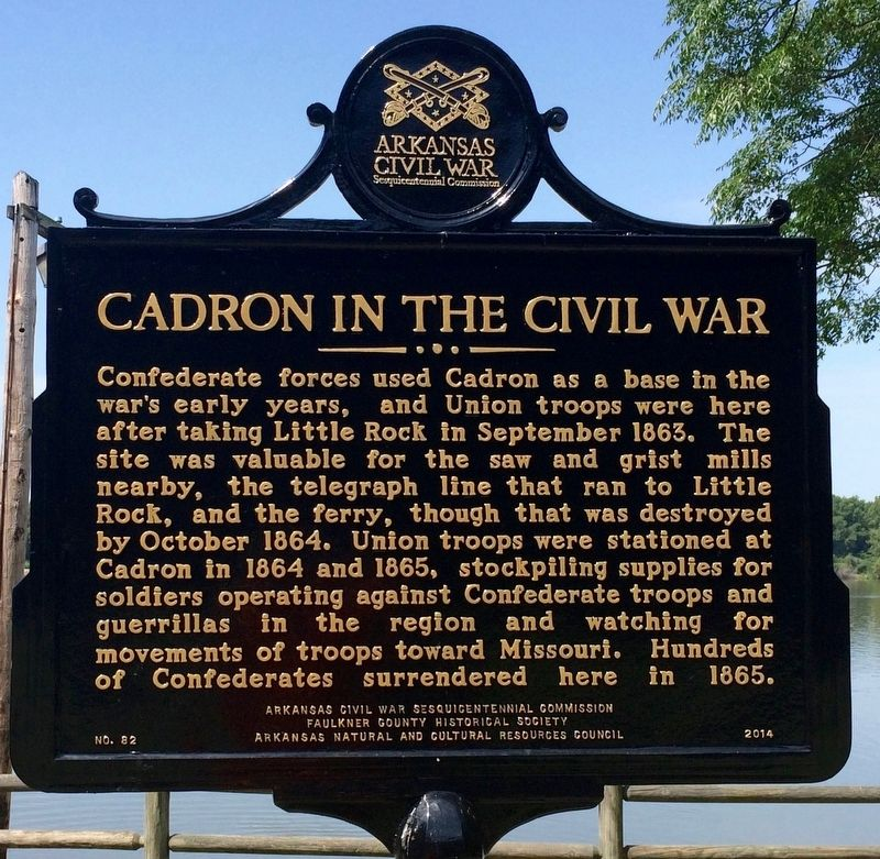 Cadron in the Civil War Marker image. Click for full size.