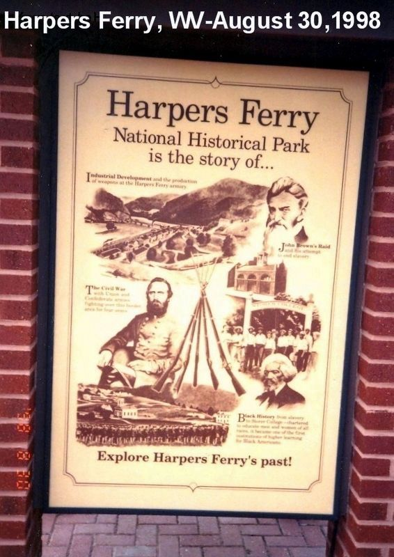 Harpers Ferry National Park-is the story of image. Click for full size.