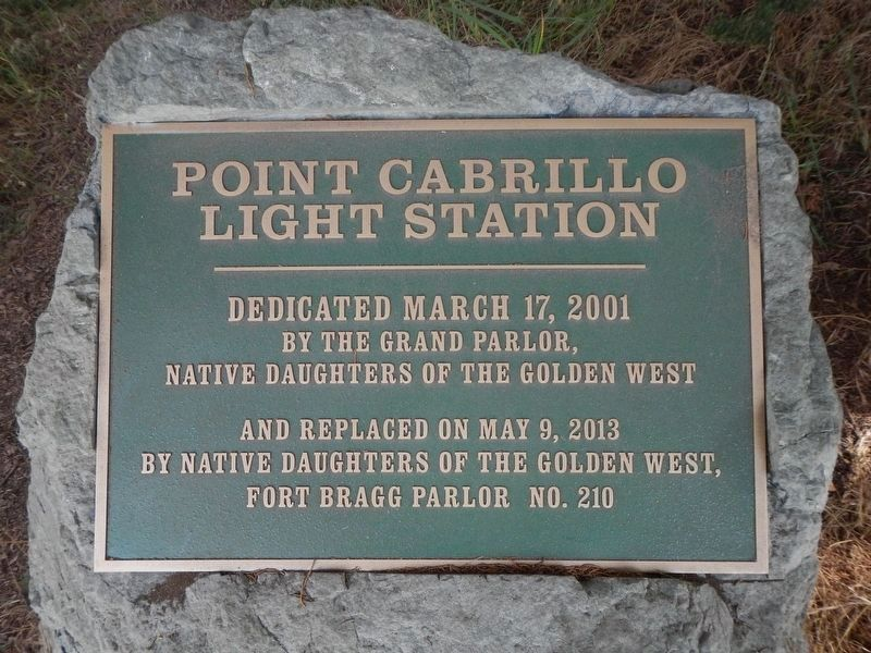 Point Cabrillo Light Station Marker image. Click for full size.