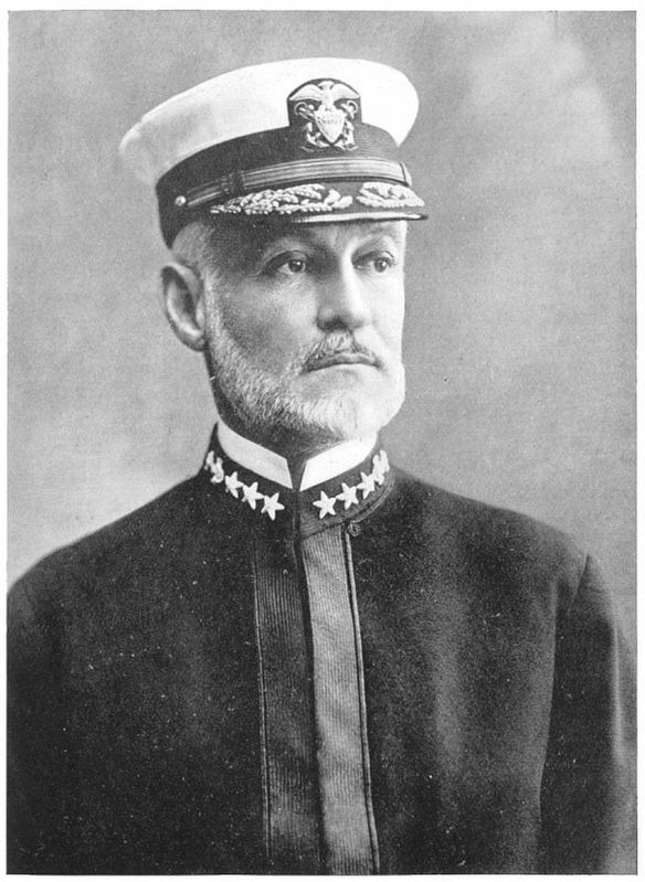 Rear-Admiral William Sowden Sims, U.S.N. image. Click for full size.