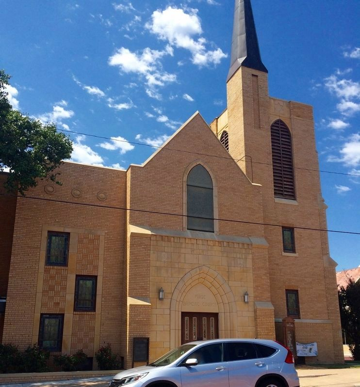 First Baptist Church of Hays. image. Click for full size.