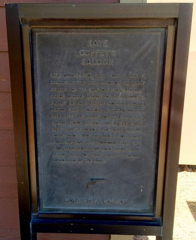 Kate Coffey's Saloon Marker image. Click for full size.