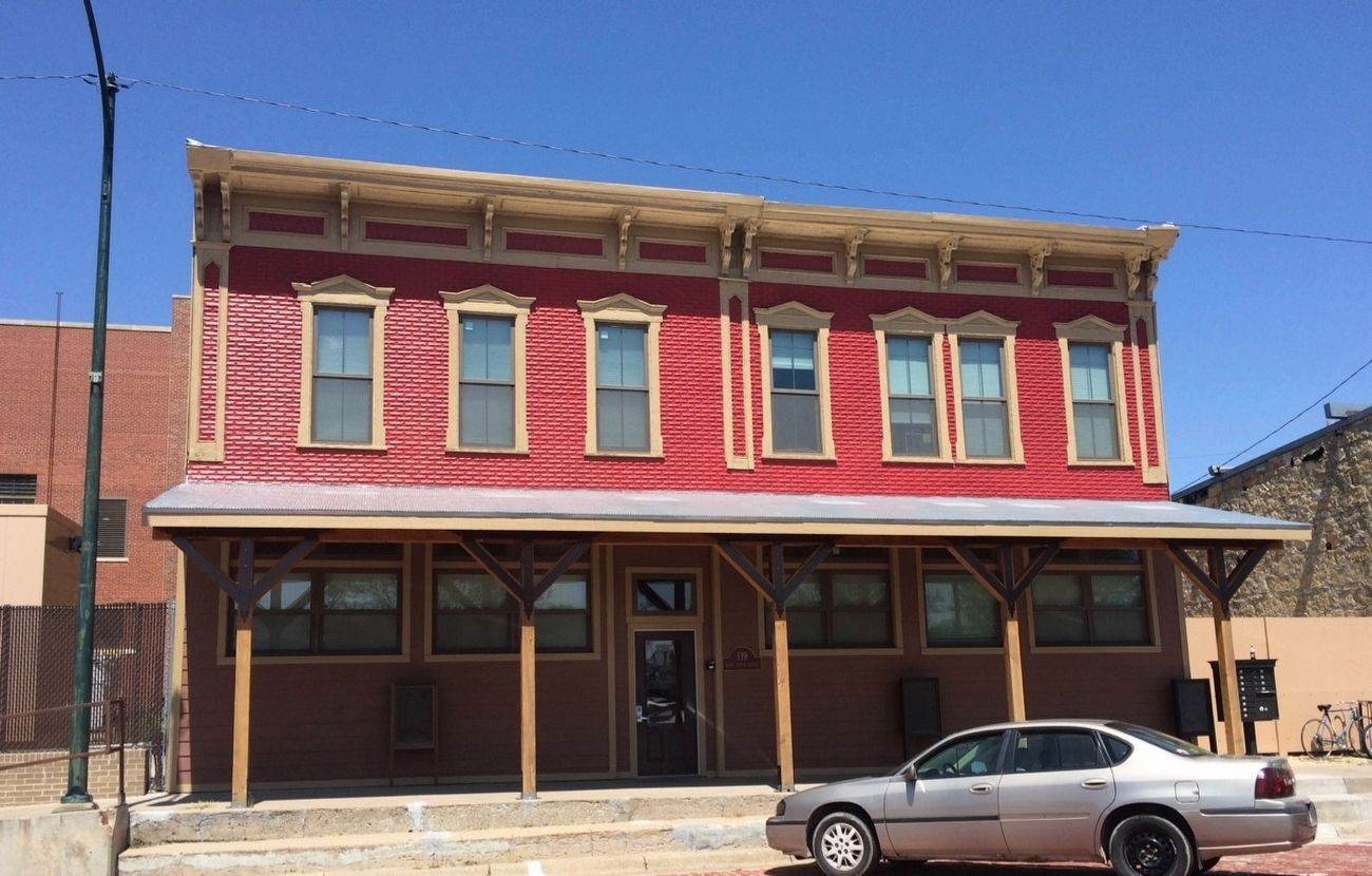 Former Kate Coffey's Saloon location. image. Click for full size.