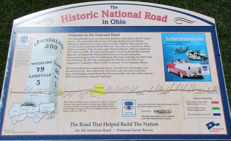 Welcome to the National Road Marker image. Click for full size.