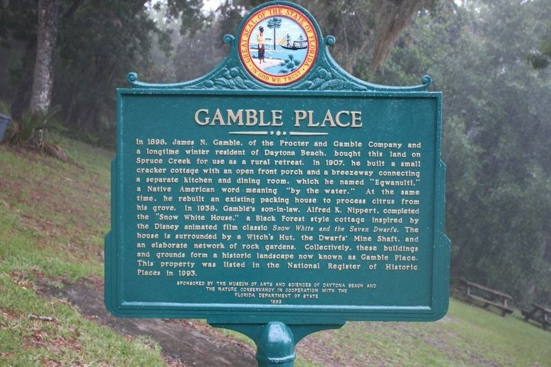 Gamble Place Marker image. Click for full size.