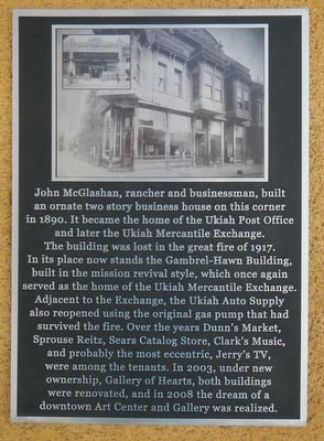 Gambrel-Hawn Building Marker image. Click for full size.
