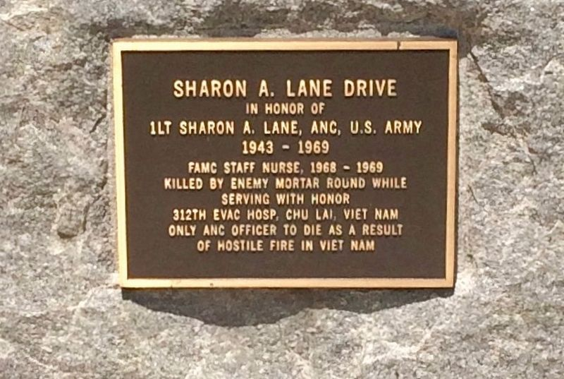 Sharon A. Lane Drive Marker image. Click for full size.