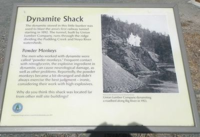 Dynamite Shack Marker image. Click for full size.