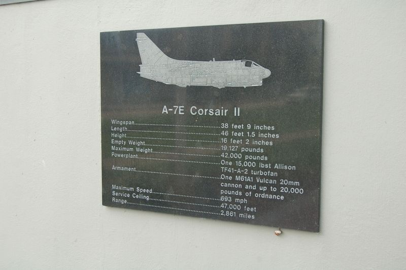 A-7E Corsair II Marker image. Click for full size.