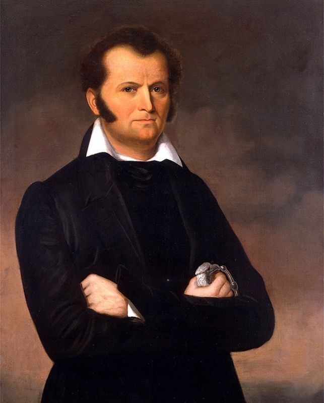 James Bowie image. Click for full size.