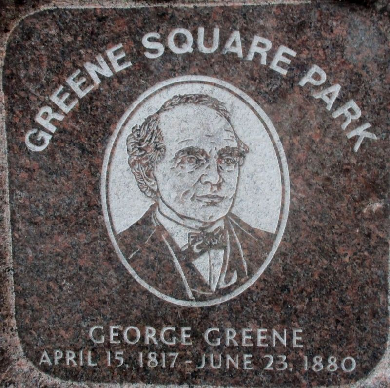 George Greene Marker image. Click for full size.