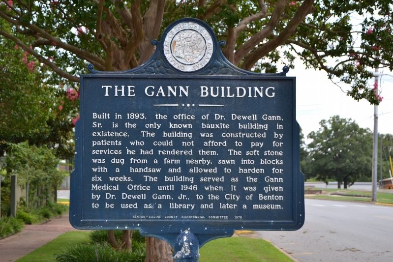 The Gann Building Marker image. Click for full size.