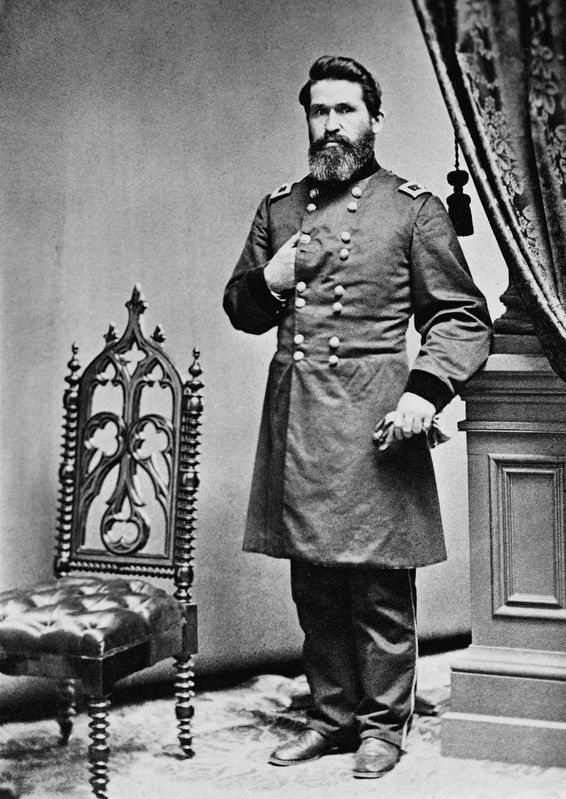 Union General James Gillpatrick Blunt image. Click for full size.