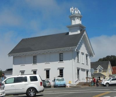 Mendocino Masonic Hall image. Click for full size.