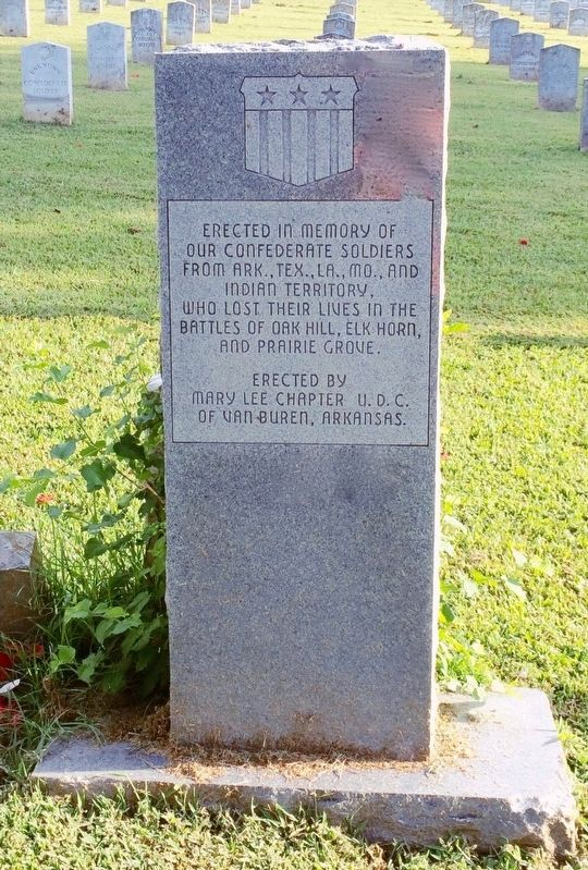 Fairview Cemetery Confederate Memorial image. Click for full size.