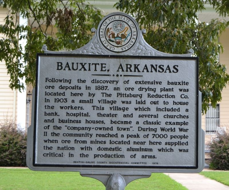 Bauxite Marker image. Click for full size.