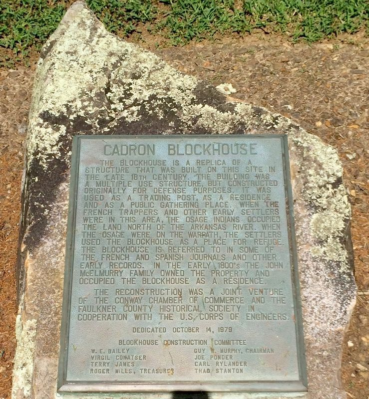 Cadron Blockhouse Plaque image. Click for full size.