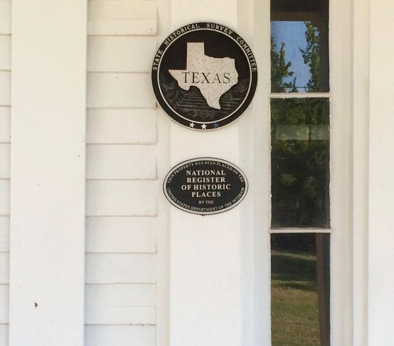 Home placed on National Register of Historic Places. image. Click for full size.