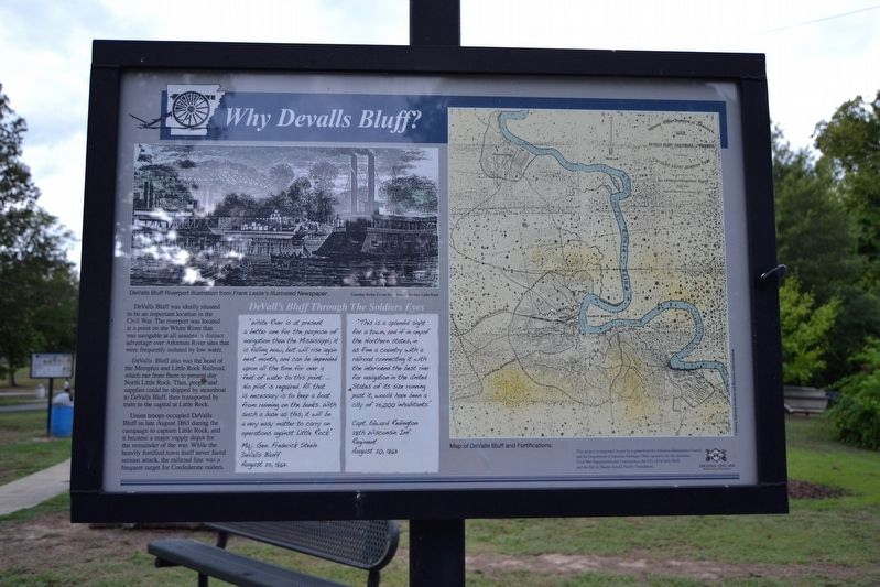 Why DeValls Bluff Marker image. Click for full size.