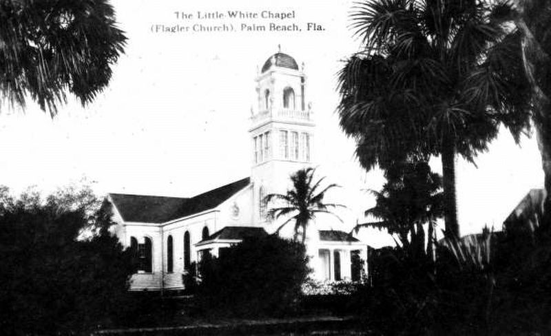 Royal Poinciana Chapel before being moved from the grounds of the Royal Poinciana Hotel image. Click for full size.