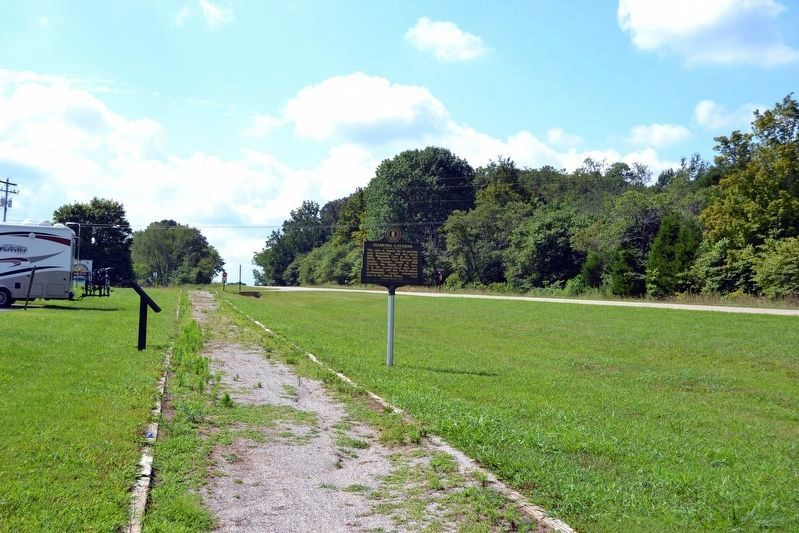 View to South From Mammoth Cave Railroad Bike & Hike Trail image. Click for full size.