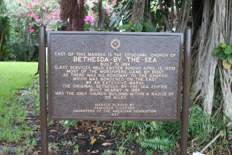Bethesda-By-The-Sea Marker image. Click for full size.