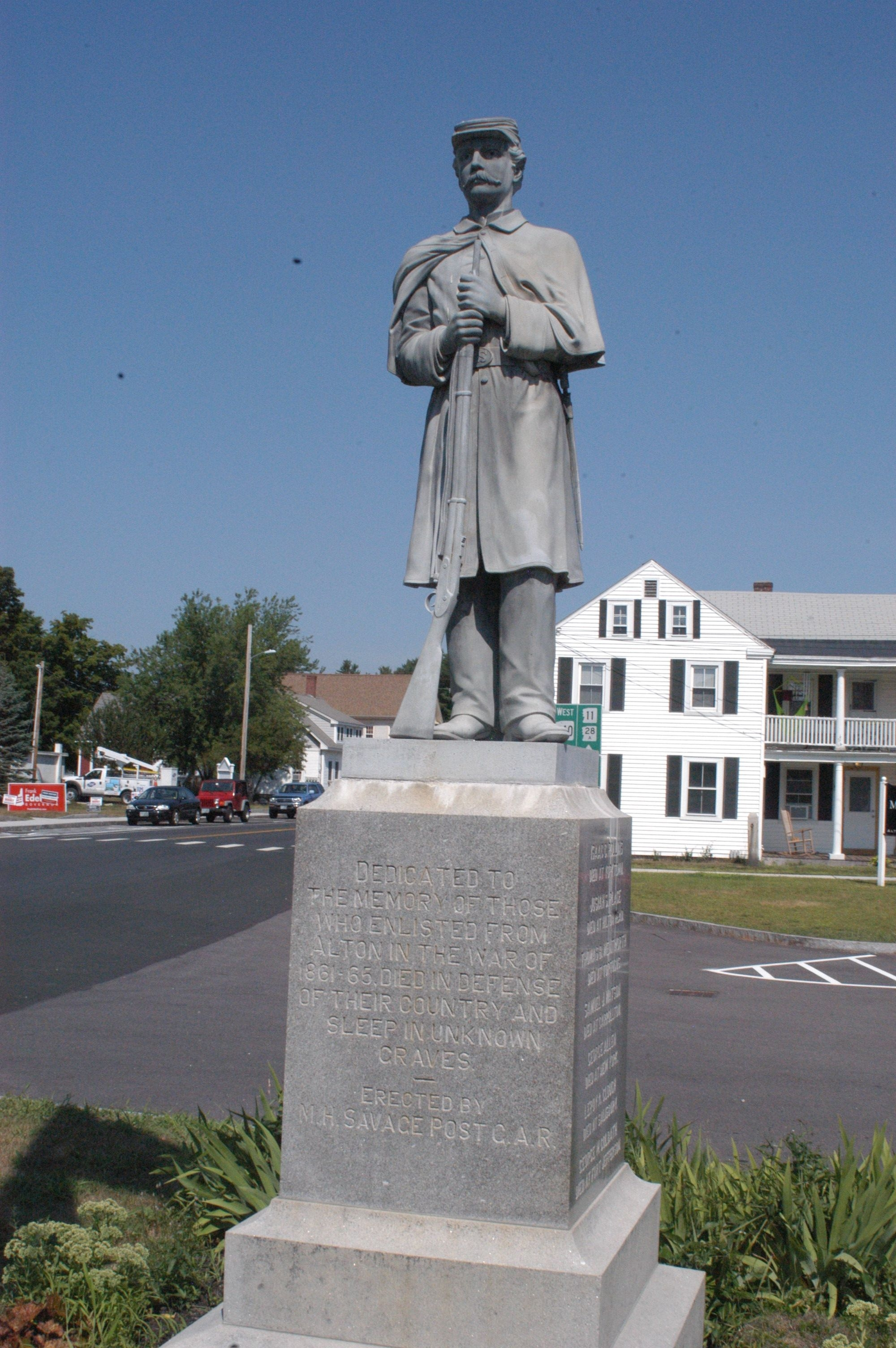 Alton New Hampshire Civil War Memorial
