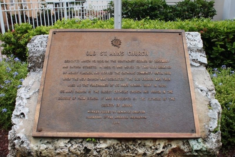 Old St. Ann's Church Marker image. Click for full size.