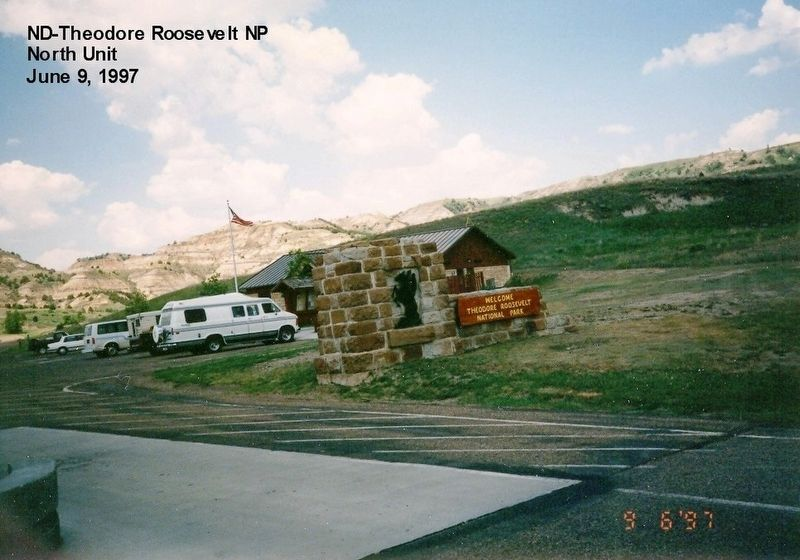 Visitor Center-North Unit of the Theodore Roosevelt National Park image. Click for full size.