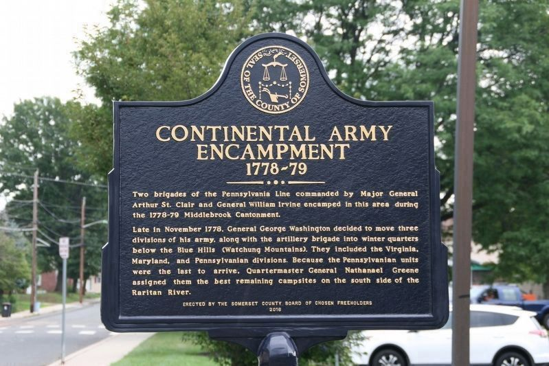 Continental Army Encampment 1778-79 Marker image. Click for full size.